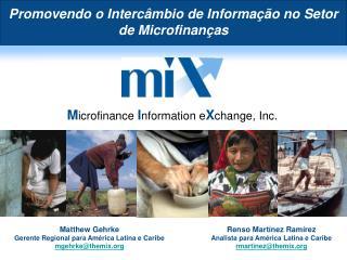 Promovendo o Intercâmbio de Informação no Setor de Microfinanças