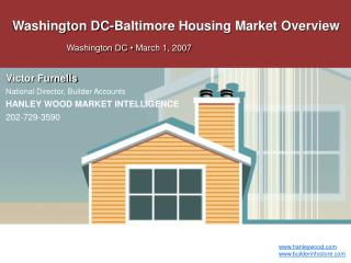 Washington DC-Baltimore Housing Market Overview