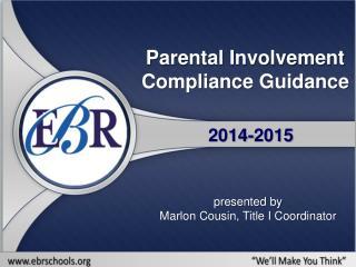 Parental Involvement Compliance Guidance