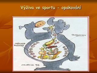 Výživa ve sportu - opakování