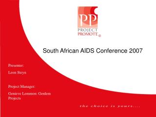 South African AIDS Conference 2007