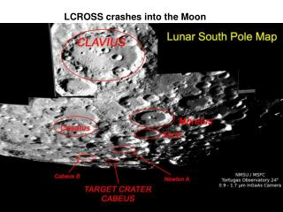 LCROSS crashes into the Moon
