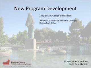 New Program Development