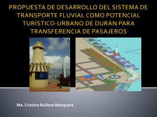 Ma. Cristina Ruilova Mosquera