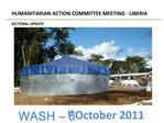 HUMANITARIAN ACTION COMMITTEE MEETING - LIBERIA