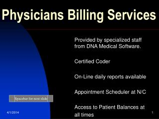 Physicians Billing Services