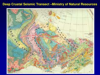 Deep Crustal Seismic Transect  Ministry of Natural Resources