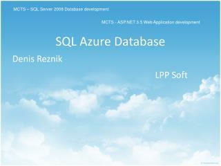 SQL Azure  Database