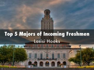 Top 5 Majors for Incoming Freshmen