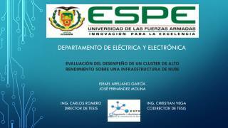 DEPARTAMENTO DE ELÉCTRICA Y ELECTRÓNICA