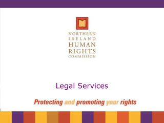 Northern Ireland Human Rights Commission Legal Services