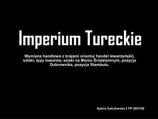 Imperium Tureckie