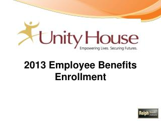 2013 Employee Benefits Enrollment
