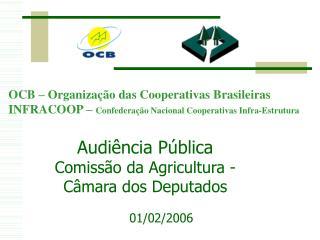 Audiência Pública Comissão da Agricultura - Câmara dos Deputados