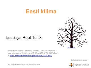 Eesti kliima