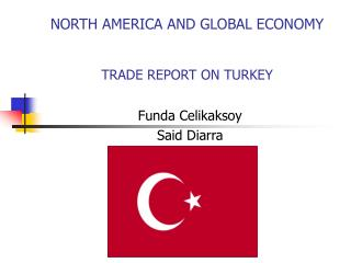 NORTH AMERICA AND GLOBAL ECONOMY TRADE REPORT ON TURKEY