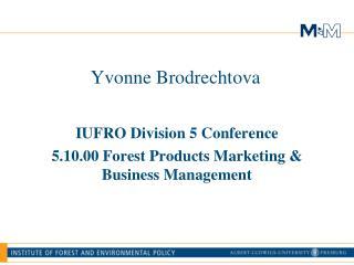 Yvonne Brodrechtova