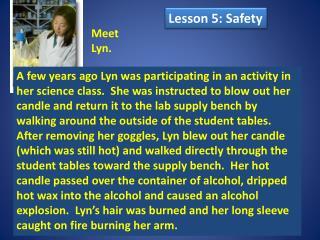 Meet  Lyn.