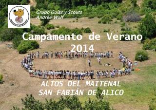 Grupo Gu�as y Scouts Andr�e Wolf