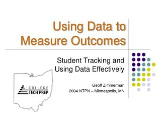 Using Data to Measure Outcomes
