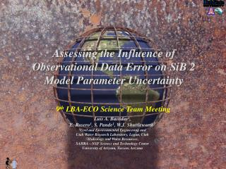 9 th  LBA-ECO Science Team Meeting