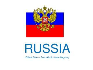RUSSIA Dilara Sarı – Enis Altıok-  Mate Bagossy