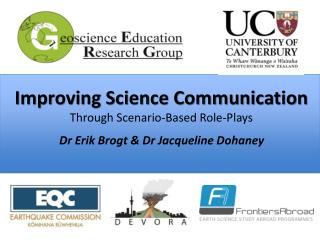Improving Science Communication Through Scenario-Based Role-Plays