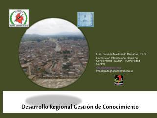 Desarrollo Regional Gestión de Conocimiento