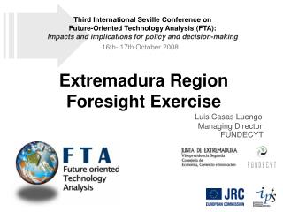 Extremadura Region Foresight Exercise
