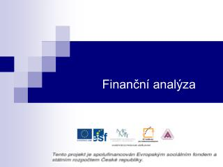Financn  anal za