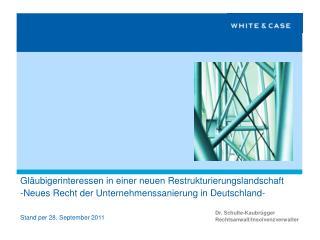 Dr. Schulte-Kaubrügger Rechtsanwalt/Insolvenzverwalter