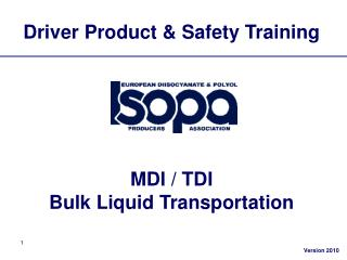 Driver Product  Safety Training