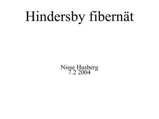 Hindersby fibernät