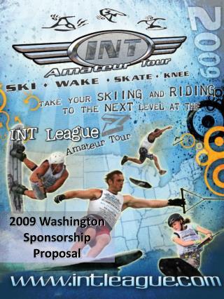 2009 Washington Sponsorship Proposal