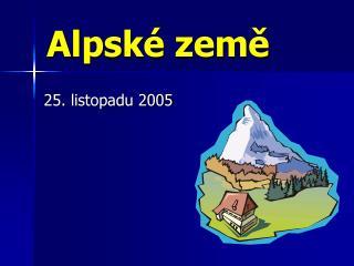 Alpské země