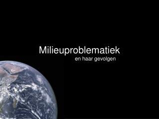 Milieuproblematiek