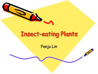 Insect-eating Plants