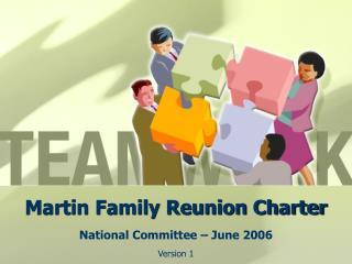 Martin Family Reunion Charter
