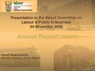 Annual Report:  2008/09