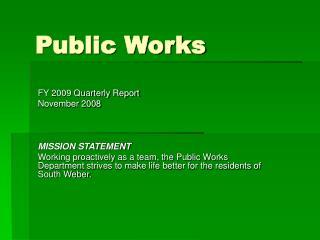 Public Works