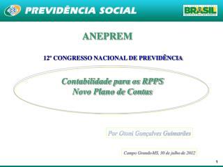 Contabilidade para os RPPS Novo Plano de Contas