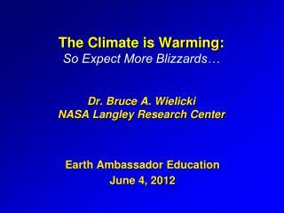 Earth Ambassador Education  June 4, 2012