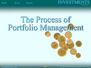 The Process of Portfolio Management