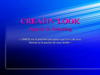 CREATIV�LOOK