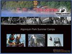 Outdoor Adventure Summer Camp Program for Boys