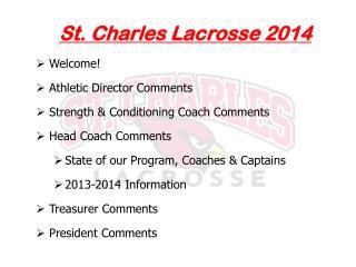 St. Charles Lacrosse 2014