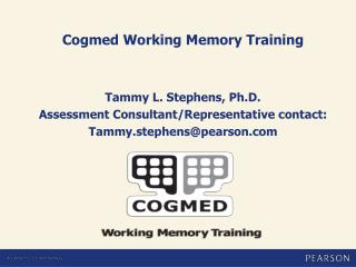 Cogmed Working Memory Training