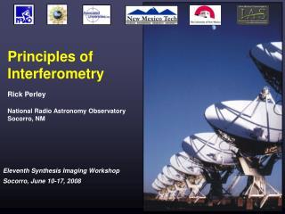 Principles of  Interferometry