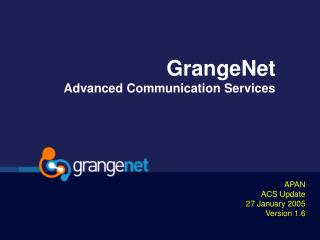 GrangeNet Advanced Communication Services