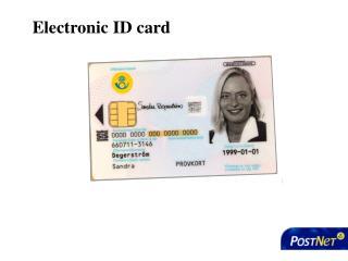 Electronic ID card
